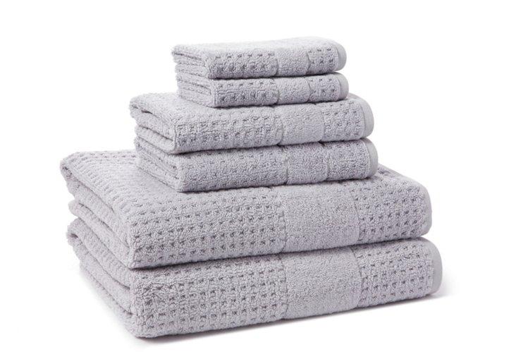 6-Pc Hammam Collection Towel Set, Iris