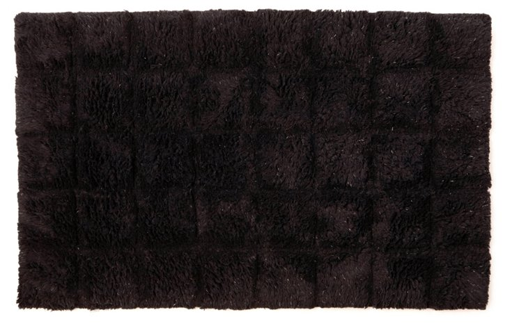 Parc East Bricks Bath Rug, Iron