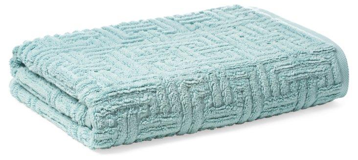 Vegas Geo Bath Towel, Spa