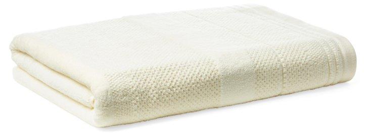Textures Bath Towel, Off-White