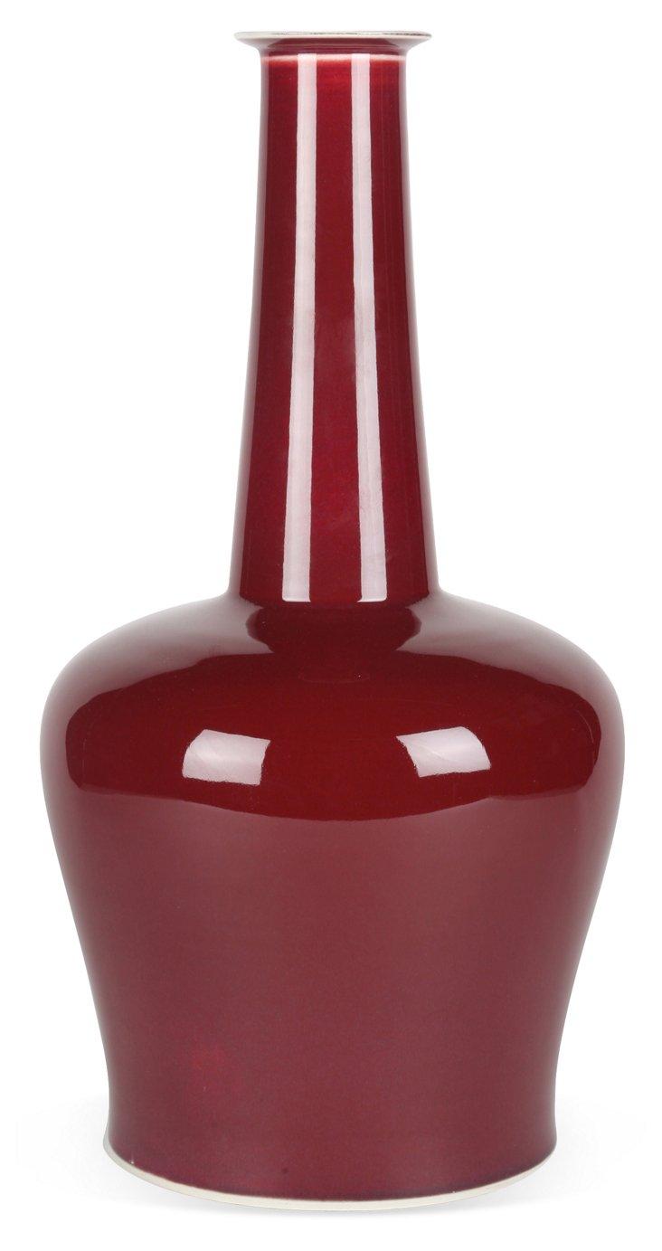 Oxblood Vase