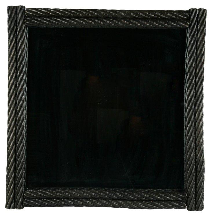 Elevator-Cable Mirror