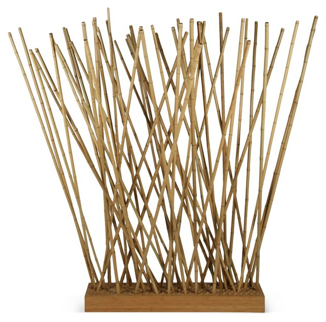 Freeform Bamboo Sculpture