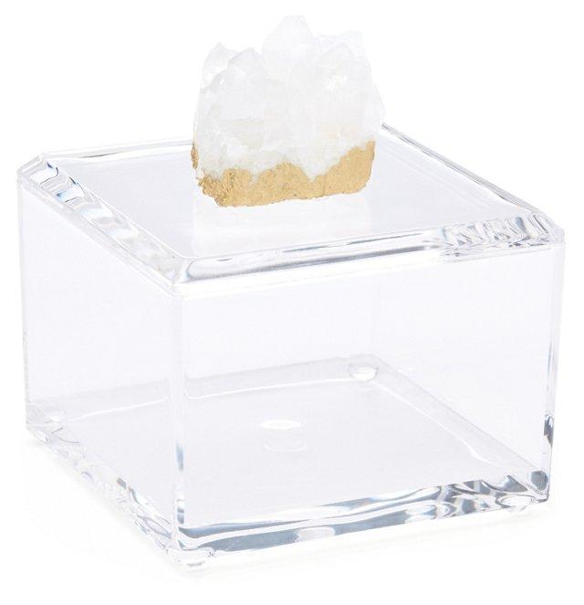 Small Acrylic Box w/ Himalayan Crystal