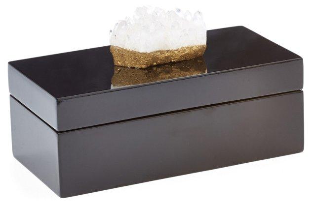 Medium Black Box w/ Himalayan Crystal