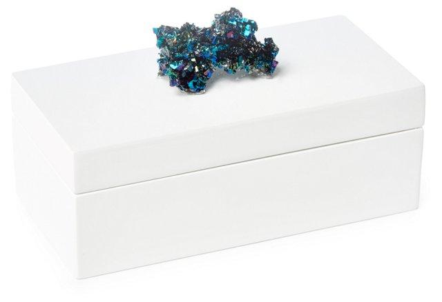 Medium White Box w/ Carborundum