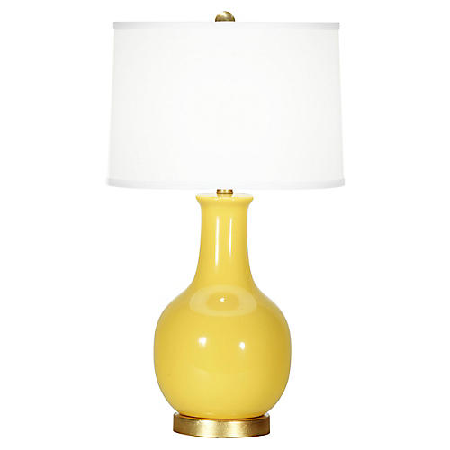 Madison Table Lamp, Yellow