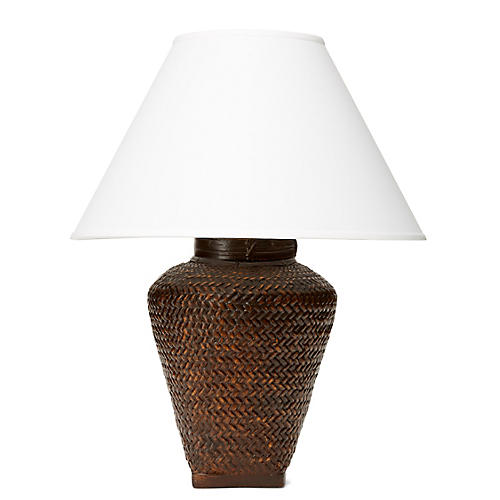 Positano Table Lamp, Brown
