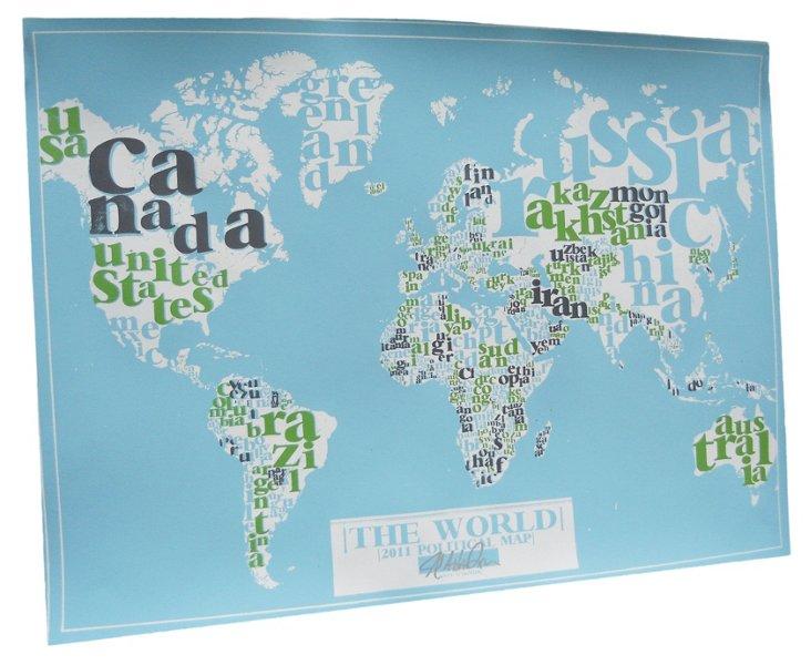 Type Map, Light Blue