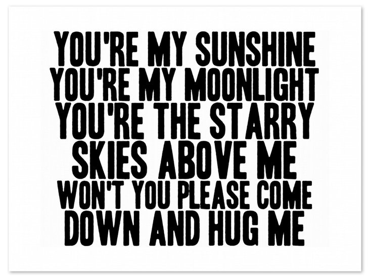 You're My Moonlight Print