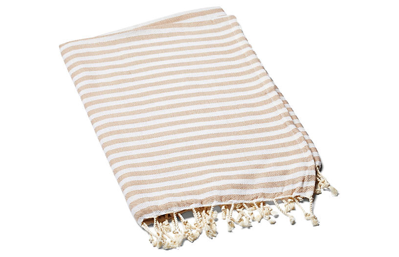 Beach Candy Towel, Beige