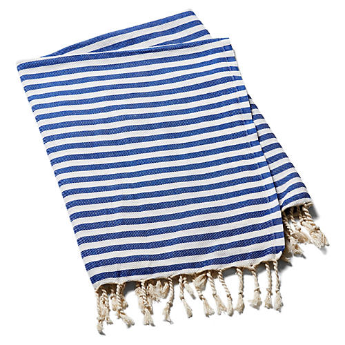 Beach Candy Towel, Blue