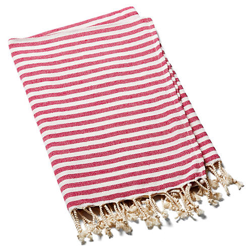 Beach Candy Towel, Pinkberry