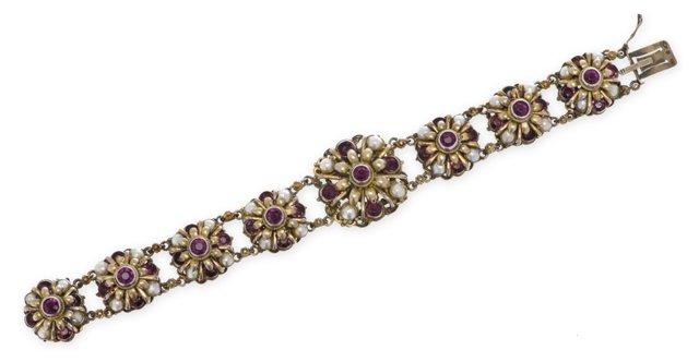 Austro-Hungarian Amethyst Bracelet