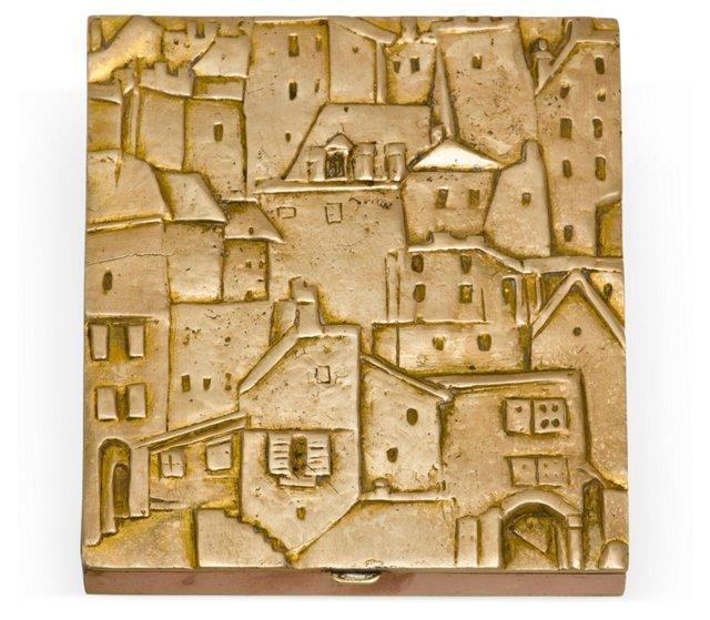 Line Vautrin Bronze Box