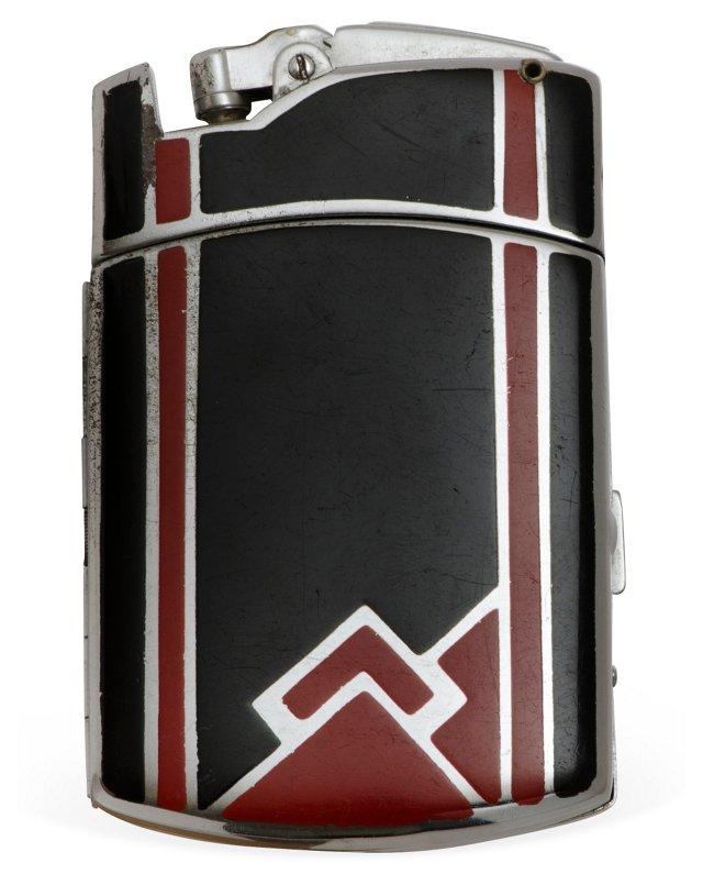 Ronson Tuxedo Art Deco Lighter