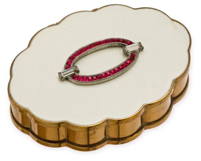Volupté Jewel & Enameled Compact