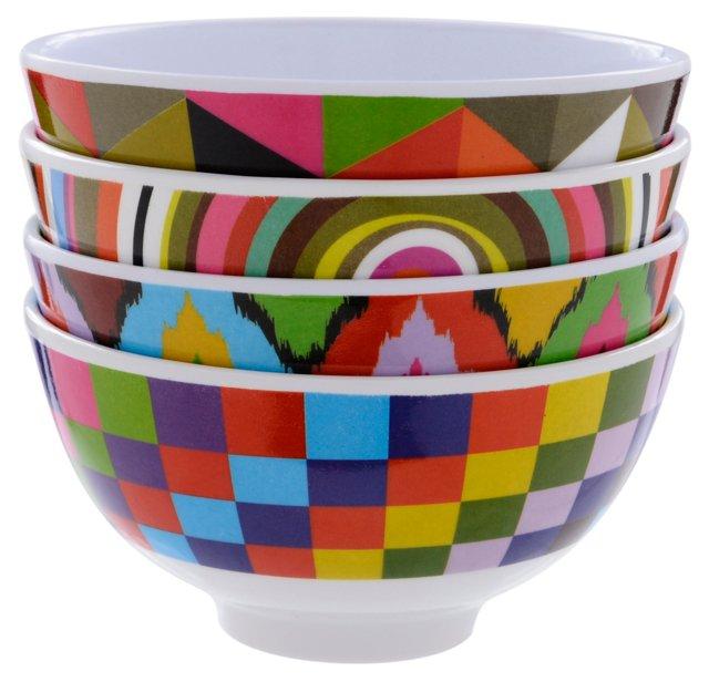 Asst of 4 Mantra Mini Bowls