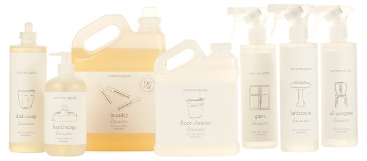 S/7 Plant-Based Cleaning Set, Lavender