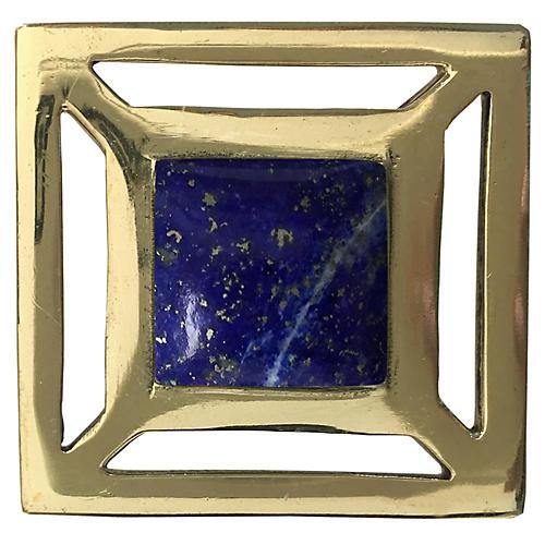 Evans Pull, Brass/Lapis