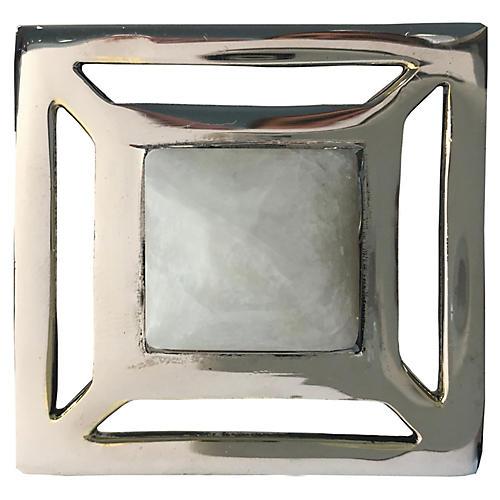 Evans Pull, Nickel/Moonstone