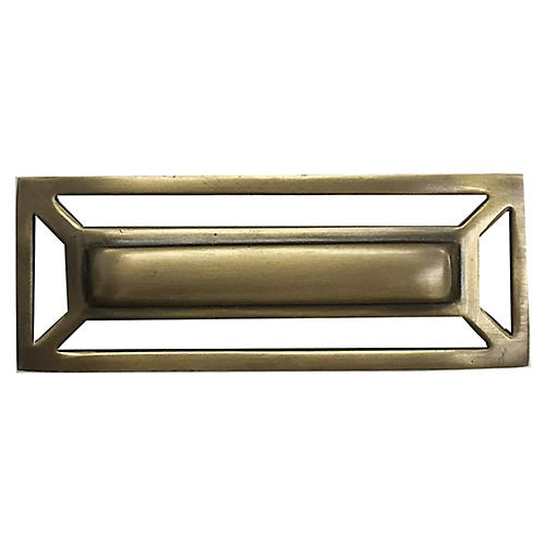 McCoy Pull, Antiqued Brass