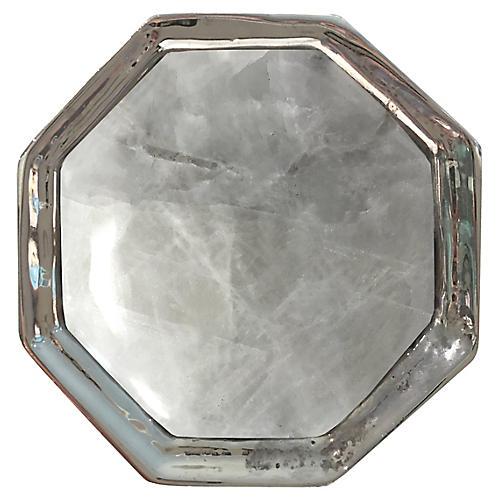 Harrison Small Pull, Nickel/Moonstone