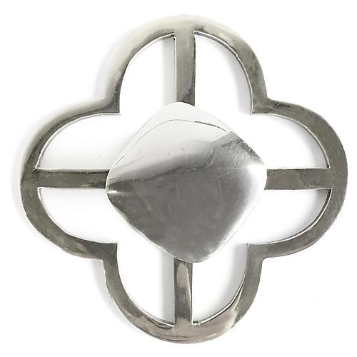 Benson Jones Backplate Pull, Nickel