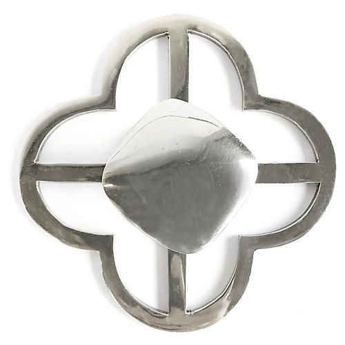 Benson Jones Backplate Pull, Nickel