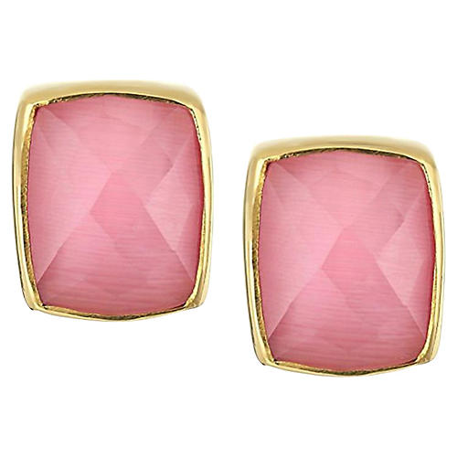 Whitten Stud Earrings, Pink
