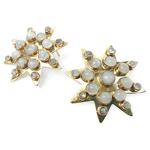 24-Kt Super-Starr Stud Earrings