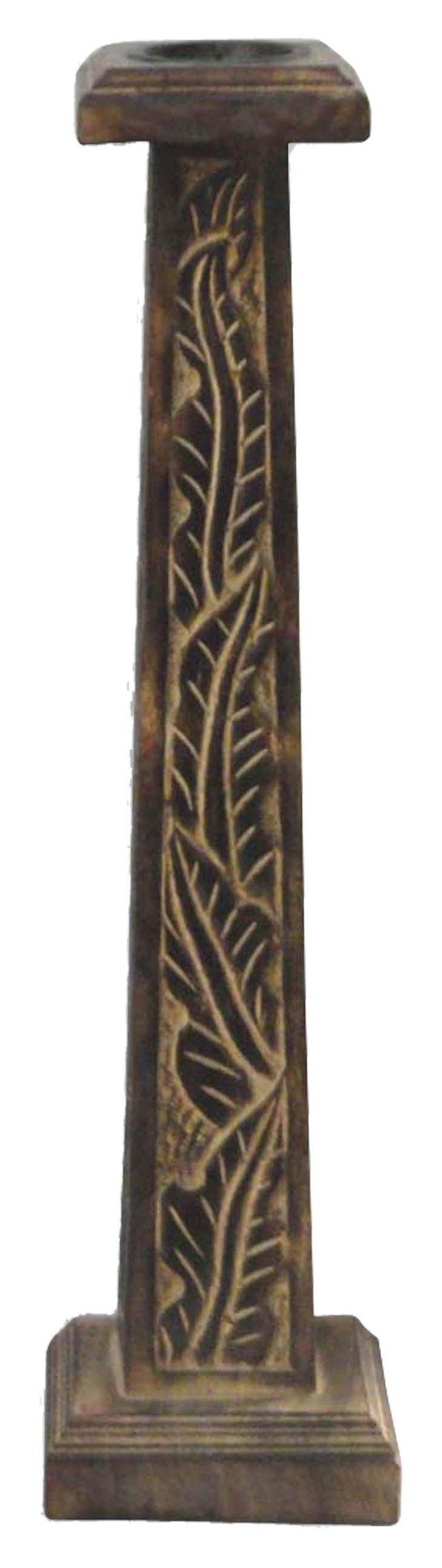 """20"""" Leaf Design Candleholder"""