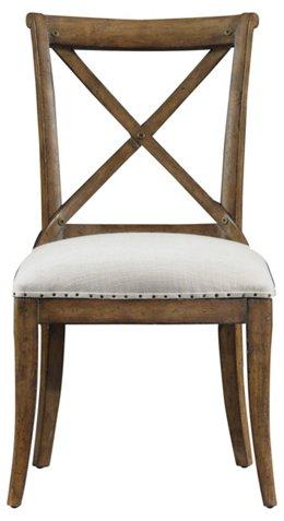 Farmhouse Side Chair Eggshell Dining Chairs Furniture One Kings Lane