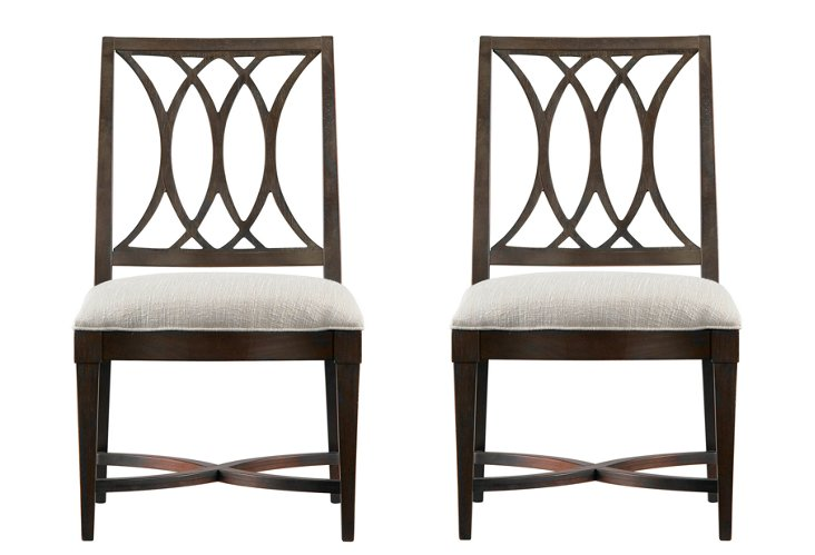 Coastal Heritage Side Chairs, Pair