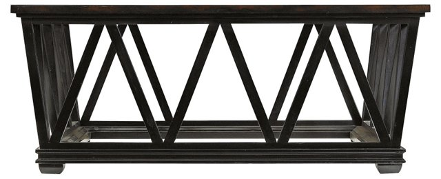 """Avalon Heights 48"""" Cocktail Table, Wenge"""