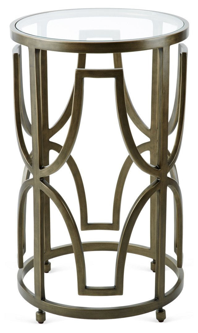 Jay Deco Side Table, Bronze