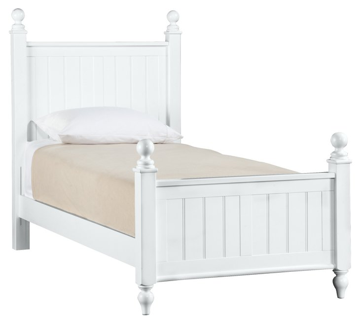 Myhaven Cottage Bed, White