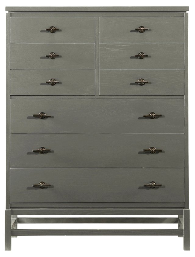 Tranquility Isle Drawer Chest, Slate