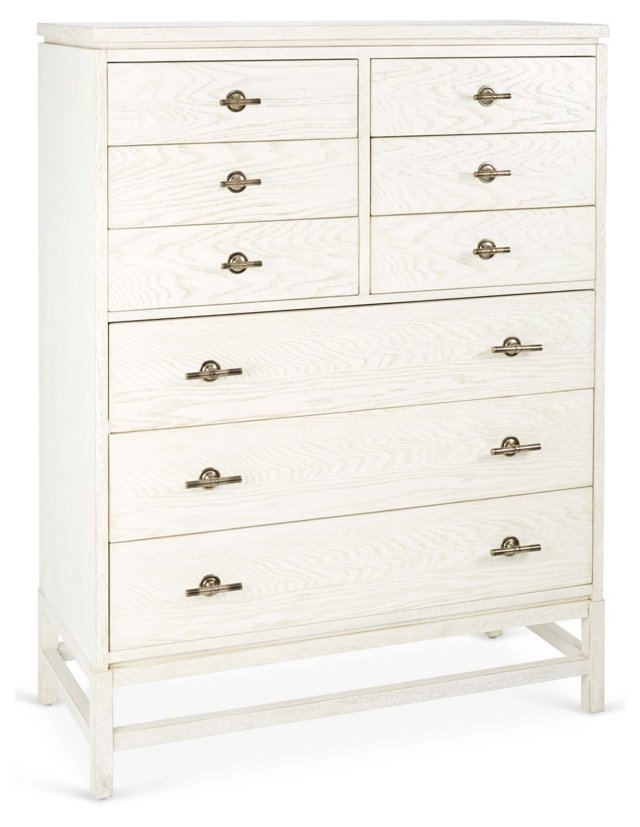 Tranquility Isle Drawer Chest, Ivory