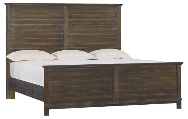Espresso Cape Comber Bed, Cal King