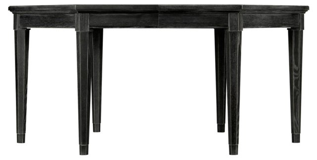 Soledad Extension Dining Table, Black