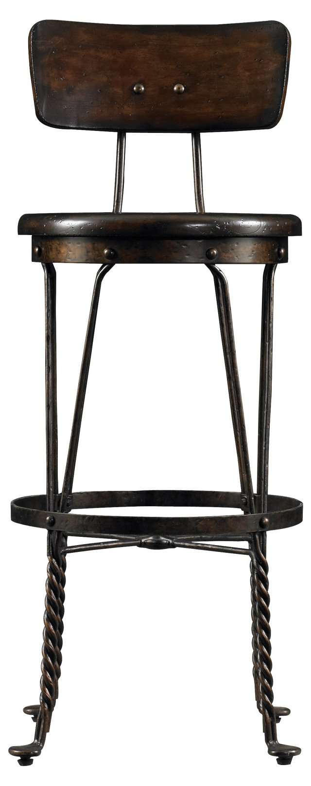 Farmhouse Barstool, Chocolate