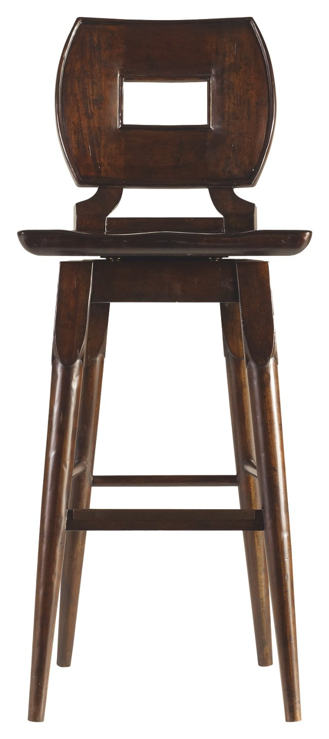 Salem Barstool, Brown