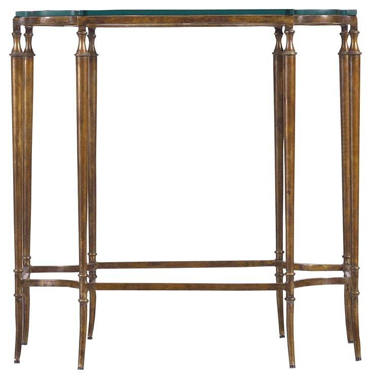 Soiree Side Table, Bronze