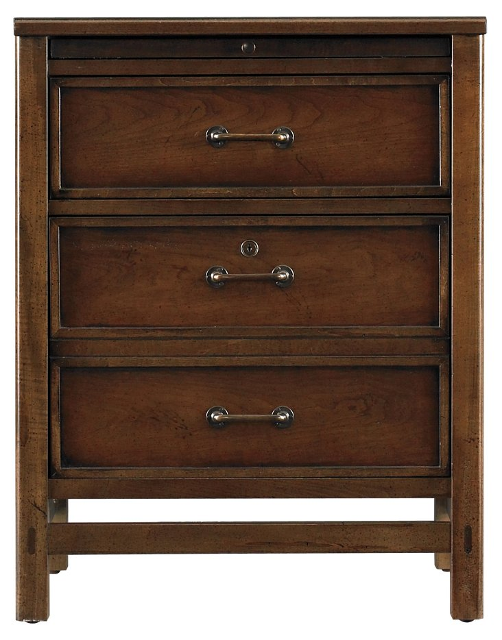Founder's 3-Drawer Cabinet, Chocolate