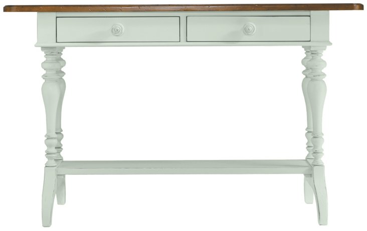 """Isabelle 54"""" Console Table, Mint"""