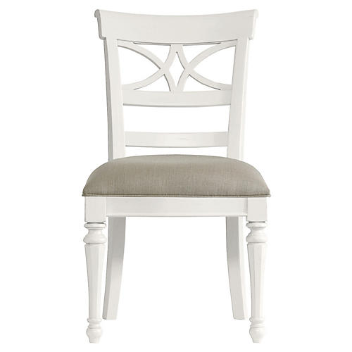 Sea Watch Side Chair, White