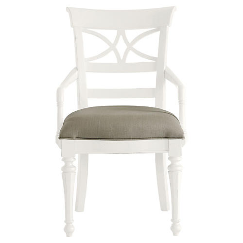 Sea Watch Armchair, White