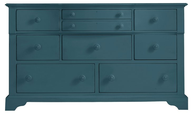 Coastal Getaway Dresser, Blue
