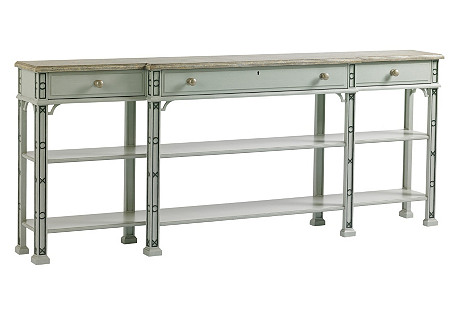 Brighton Console Table, Gray